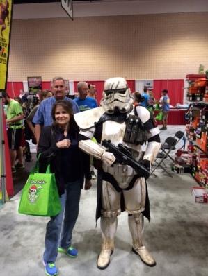 Gasparilla Expo 2014 Storm Trooper and me