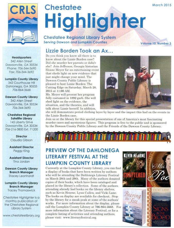 Mar2015 Literary Festival